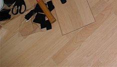 laminate floor in rv