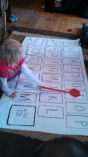 Mrs. Bohaty's Kindergarten Kingdom: How to make a shower curtain keyboard and play Swat!