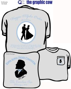 #KappaAlphaOrder #Convivium #formal Go Greek, Greek Life, Little Sister Gifts, Little Sisters, Kappa Alpha Order, Rush Shirts, Graphic Cow, Front Design, Coolers