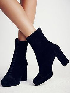 Day For Night Platform Ankle Boot