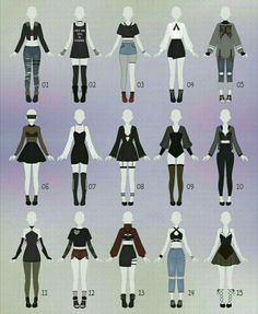 New Fashion Drawing Clothes Outfit Ideas