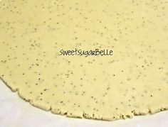 Lemon Poppy Seed Cutouts {Recipe} – The Sweet Adventures of Sugar Belle Cut Out Cookie Recipe, Cookie Dough Recipes, Cookie Flavors, Baking Recipes, Dessert Recipes, Lemon Desserts, Bar Recipes, Healthy Recipes, Roll Cookies