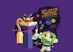 Buzz Lightyear from the Intergalactic Alliance t-shirt