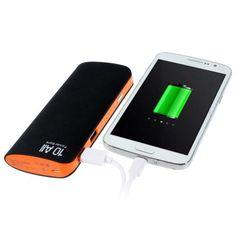 Power Bank 12000 mAh 2 USB negro #friki #android #iphone #computer #gadget Visita http://www.blogtecnologia.es/producto/power-bank-12000-mah-2-usb-negro