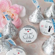 Personalized hershey kisses for the years that nothing extraordinary happened