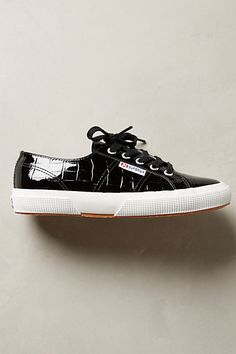 Superga Patent Croc Sneakers - anthropologie.com
