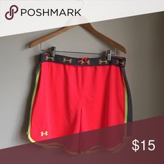 ‼️Final Price Drop‼️Under Armour running shorts Women's running shorts with adjustable waist band Under Armour Shorts