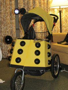 Dalek Stroller...definitely making one for my kid when I have one!!: