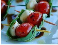 bitesize caprese salad
