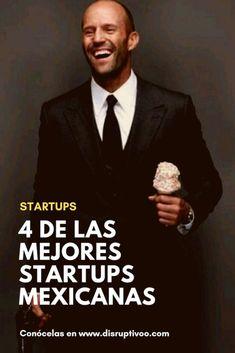 4 de las Mejores Startups de Mexico   Encuentra el mejor contenido para #emprendedores   En Disruptivoo.com nos gusta compartir el éxito de otros emprendedores como tu. Ellos empezaron con un sueño también y lo hicieron realidad. Y ahora son de las Mejore Start Ups, Jason Statham, Self Discovery, Spanish Quotes, Great Pictures, Good Vibes, True Stories, Business Women, Personal Development