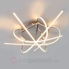 Individuell gestaltete LED-Deckenlampe Hanne sicher & bequem online bestellen bei Lampenwelt.de.
