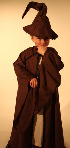 Childrens Wizard costume  handmade in all sizes by Kenickys, £29.99