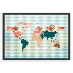 Compre Mapa Vintage de @juzimmermann em posters de alta qualidade. Incentive artistas independentes, encontre produtos exclusivos.