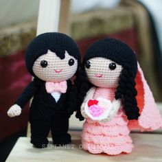 Best selling wedding doll design - Jake & Fiona. Available in Ready Stock.