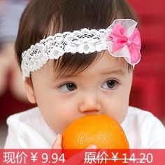 2012 baby headband baby hair bands child hair accessory bow lace hair band 12026-in Hair Accessories from Apparel & Accessories on Aliexpress.com