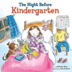 From Nadine Heifert of Chandler, Arizona: I use The Night Before Kindergarten , by Natasha Wing, to start discussions about how we're all feeling the same things. We've all been preparing for kindergarten and we're all excited about the new year. I talk about the things I did to get ready, and then I introduce class meeting procedures.