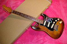 2002 Bacchus BST-SRV Stevie Ray Vaughan Stratocaster Replica