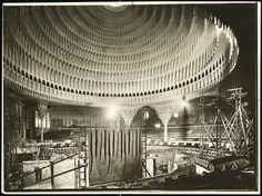 Palace of the Soviets and one for the League of Nations headquarters at Geneva. Expressionist architecture, Hans Poelzig