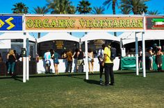 Coachella 2013 - Day 2. It's not all gyros and pork at the food stands.