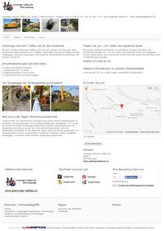 Greminger Hermann Tiefbau AG, Bussnang, Weinfelden, Strassenbau, Grabenfräsen, Saugbagger