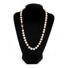 Learn how to make a gorgeous Knotted Pearl Necklace! Watch our video tutorial here! <3