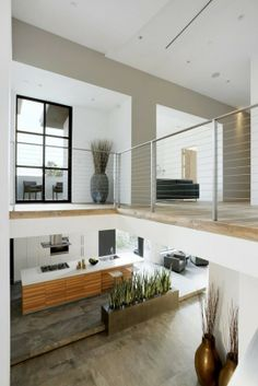 Minimalist Black, Grey And White House With A Play Of Textures | DigsDigs