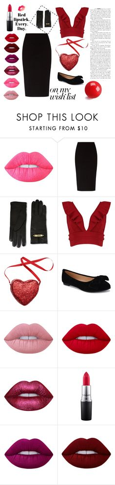 """Wish List Purse"" by smillafrilla ❤ liked on Polyvore featuring Lime Crime, The Row, Moschino, Boohoo, MAC Cosmetics, contestentry and polyPresents"