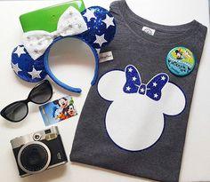 ★ Star Minnie Mouse Tee ★ Great shirt for Disneyland or Disney World Vacation  Disney Shirt
