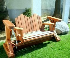 Image of: Glider Rocking Chair Plans