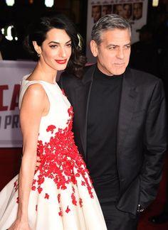 Pin for Later: George et Amal Clooney Ont L'air Plus Amoureux Que Jamais Sur le Tapis Rouge