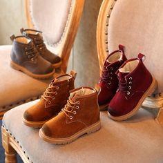 Aliexpress.com : Buy New Fashion Classical Warm Leather Boots Kids Autumn Winter British Casual Shoes Antislip Lace Up Boots Children Zipper Shoe from Reliable shoe sticker suppliers on LANQI & ROKER CO., LTD.
