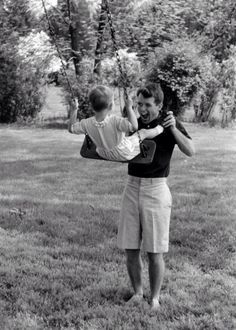 Bobby Jr with his dad Bobby Kennedy