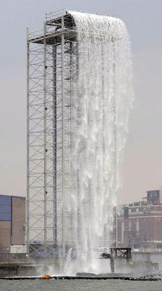 The New York City Waterfalls, 2008