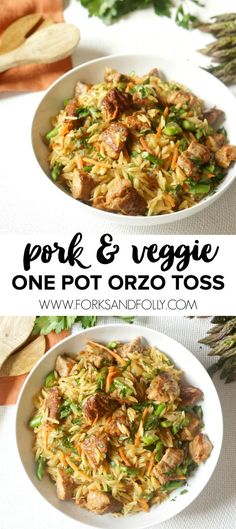 One Pot Pork & Veggi