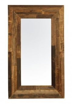 "Angora Mirror 60""   Reclaimed Wood Frame Tall Mirror   Zin Home"