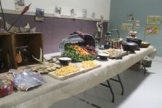 Eagle Court of Honor: The spread!
