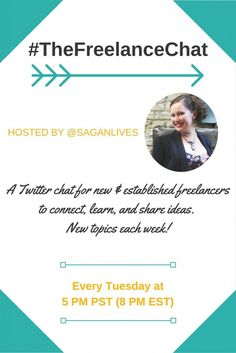 Looking for a Twitter chat for freelancers? You're in luck! This freelancer Twitter chat takes place every Tuesday evening and is for new freelancers, established freelancers, and everyone in between. Get freelancer tips & connect with other freelancers during this fun & informative weekly Twitter chat!