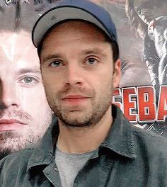 Uncomfortable Seb<< HE LOOKS SO AWKWARD THIS IS ADORABLE