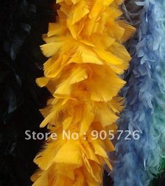 usd$3.25/pc 50g turkey feather boa,feather scarf shawl,Chandelier Boa Feathers,free shipping