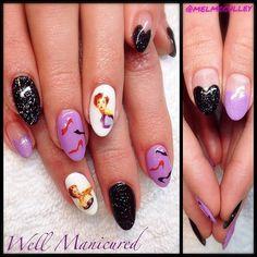 Vargas girl inspired gel mani for the very sweet @rosesandnutshells.  #wellmanicured #pinupnails #pinupgirlnails #vargasgirls #gel #vintage #ilovemynails #manhattanbeach #manicure #intheheartofthesouthbay #nailstickers #highheels #pumps #manicureaddict #naildesign #naildesigns #nailstylist #nails #nailart #nailsmagazine #Padgram