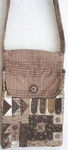 Button Angel bag