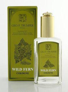 Wild Fern Cologne glass atomiser bottle 50ml