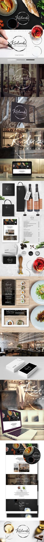 Kieliszki - restaurant on Behance