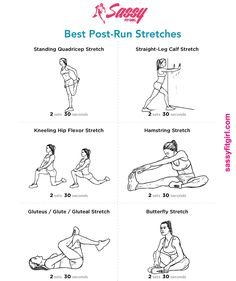 Best Post-Run Stretches Stretching after a run is very important. It helps relieve tension and soreness increases flexibility and helps prevents injury. Do these 6 Post-Run Stretches after your. Fitness Workouts, Fitness Motivation, Running Workouts, Running Tips, Yoga Fitness, Daily Motivation, Running For Beginners, Fitness Pal, Fitness Quotes