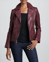 leather-neiman marcus notchedcollar trapunto leather moto jacket