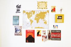 Mon mur de cadres et posters – Babymeetstheworld – Blog maman – Blog Voyages Decoration, Coca Cola, Life Is Good, Gallery Wall, Posters, Cold, Frame, Home Decor, Wall Of Frames