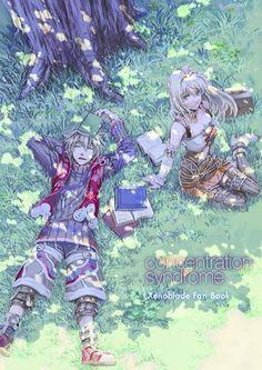 Xenoblade Chronicles - Shulk and Fiora