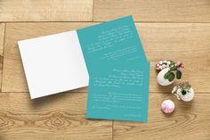 Faire-part de mariage Traditionnel by Le Collectif pour www.rosemood.fr #rosemood #atelierrosemood #wedding #announcement #classic