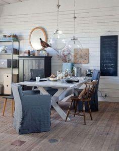 Fusionamos lo vintage con lo más actual para conseguir espacios cálidos y contemporáneos.