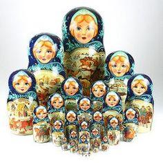30 Piece Nesting Dolls
